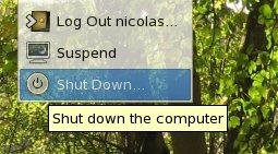 Shutdown XGL